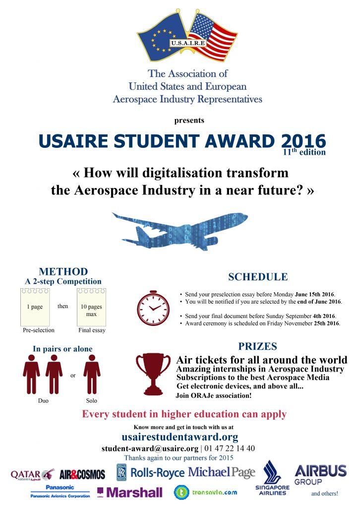 Usaire Student Award