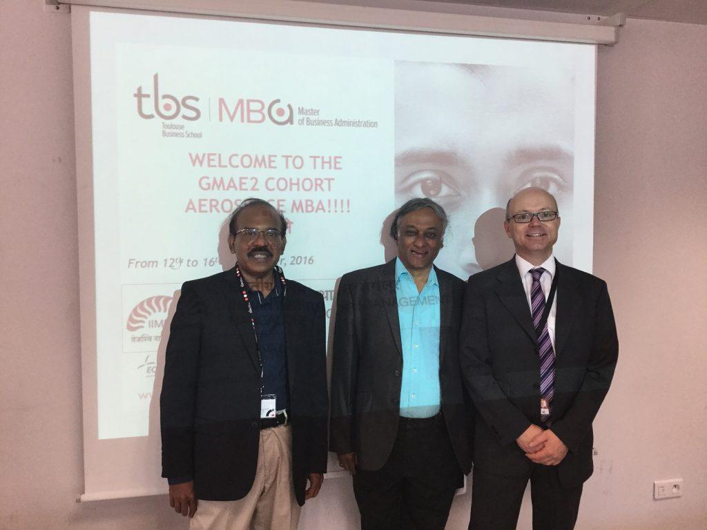 Day One International Seminar IIMB & TBS Aerospace MBA GMAE2 Cohort